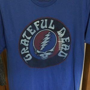 Grateful Dead Blue T Shirt Size L